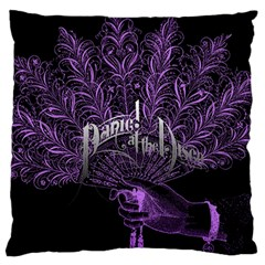 Panic At The Disco Large Flano Cushion Case (one Side) by Onesevenart