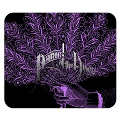 Panic At The Disco Double Sided Flano Blanket (small)  by Onesevenart