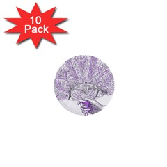 Panic At The Disco 1  Mini Buttons (10 Pack)  by Onesevenart