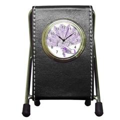 Panic At The Disco Pen Holder Desk Clocks by Onesevenart
