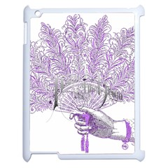 Panic At The Disco Apple Ipad 2 Case (white) by Onesevenart