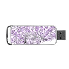 Panic At The Disco Portable Usb Flash (two Sides) by Onesevenart