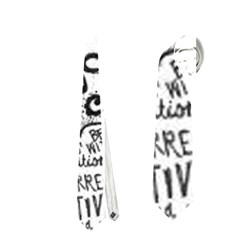 Panic! At The Disco Lyric Quotes Neckties (two Side)  by Onesevenart