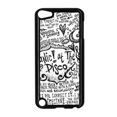 Panic! At The Disco Lyric Quotes Apple Ipod Touch 5 Case (black) by Onesevenart