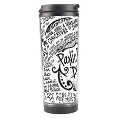 Panic! At The Disco Lyric Quotes Travel Tumbler by Onesevenart