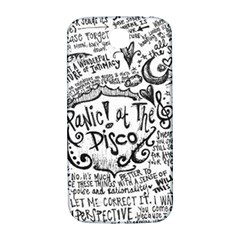 Panic! At The Disco Lyric Quotes Samsung Galaxy S4 I9500/i9505  Hardshell Back Case by Onesevenart