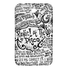 Panic! At The Disco Lyric Quotes Samsung Galaxy Tab 3 (7 ) P3200 Hardshell Case  by Onesevenart