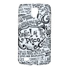 Panic! At The Disco Lyric Quotes Galaxy S4 Active by Onesevenart