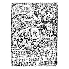 Panic! At The Disco Lyric Quotes Ipad Air Hardshell Cases by Onesevenart