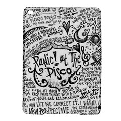 Panic! At The Disco Lyric Quotes Ipad Air 2 Hardshell Cases by Onesevenart