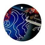 Panic! At The Disco Released Death Of A Bachelor Ornament (Round)