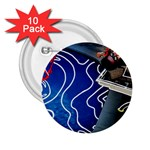 Panic! At The Disco Released Death Of A Bachelor 2.25  Buttons (10 pack)