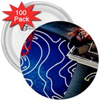 Panic! At The Disco Released Death Of A Bachelor 3  Buttons (100 pack)