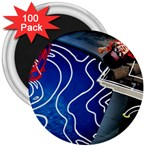 Panic! At The Disco Released Death Of A Bachelor 3  Magnets (100 pack)