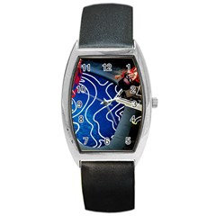 Panic! At The Disco Released Death Of A Bachelor Barrel Style Metal Watch by Onesevenart