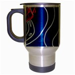 Panic! At The Disco Released Death Of A Bachelor Travel Mug (Silver Gray)