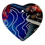 Panic! At The Disco Released Death Of A Bachelor Heart Ornament (2 Sides)