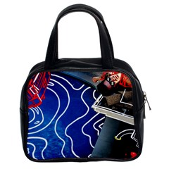 Panic! At The Disco Released Death Of A Bachelor Classic Handbags (2 Sides) by Onesevenart