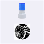 Panic! At The Disco Released Death Of A Bachelor Rubber Round Stamps (Small)