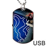 Panic! At The Disco Released Death Of A Bachelor Dog Tag USB Flash (One Side)