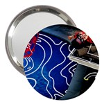 Panic! At The Disco Released Death Of A Bachelor 3  Handbag Mirrors