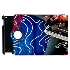 Panic! At The Disco Released Death Of A Bachelor Apple Ipad 3/4 Flip 360 Case by Onesevenart