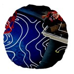 Panic! At The Disco Released Death Of A Bachelor Large 18  Premium Round Cushions