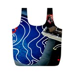 Panic! At The Disco Released Death Of A Bachelor Full Print Recycle Bags (M)
