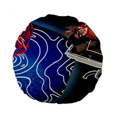 Panic! At The Disco Released Death Of A Bachelor Standard 15  Premium Flano Round Cushions by Onesevenart