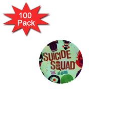 Panic! At The Disco Suicide Squad The Album 1  Mini Buttons (100 Pack)  by Onesevenart