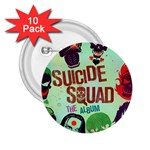 Panic! At The Disco Suicide Squad The Album 2.25  Buttons (10 pack)