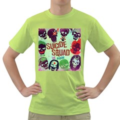 Panic! At The Disco Suicide Squad The Album Green T Shirt by Onesevenart
