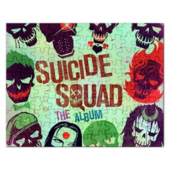 Panic! At The Disco Suicide Squad The Album Rectangular Jigsaw Puzzl by Onesevenart