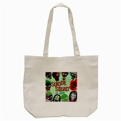 Panic! At The Disco Suicide Squad The Album Tote Bag (cream) by Onesevenart