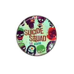 Panic! At The Disco Suicide Squad The Album Hat Clip Ball Marker (10 Pack) by Onesevenart