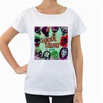 Panic! At The Disco Suicide Squad The Album Women s Loose-Fit T-Shirt (White)