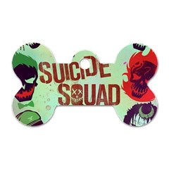 Panic! At The Disco Suicide Squad The Album Dog Tag Bone (two Sides) by Onesevenart