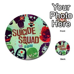 Panic! At The Disco Suicide Squad The Album Multi Purpose Cards (round)  by Onesevenart