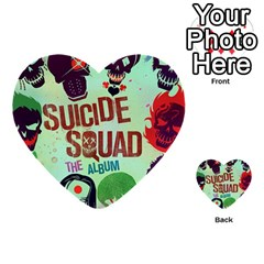 Panic! At The Disco Suicide Squad The Album Multi Purpose Cards (heart)  by Onesevenart
