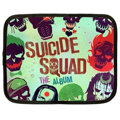 Panic! At The Disco Suicide Squad The Album Netbook Case (large) by Onesevenart