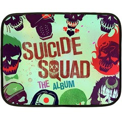 Panic! At The Disco Suicide Squad The Album Double Sided Fleece Blanket (mini)  by Onesevenart