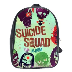 Panic! At The Disco Suicide Squad The Album School Bags(large)  by Onesevenart