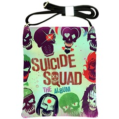 Panic! At The Disco Suicide Squad The Album Shoulder Sling Bags by Onesevenart