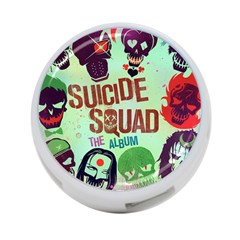 Panic! At The Disco Suicide Squad The Album 4 Port Usb Hub (two Sides)  by Onesevenart