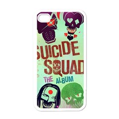 Panic! At The Disco Suicide Squad The Album Apple Iphone 4 Case (white) by Onesevenart