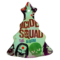 Panic! At The Disco Suicide Squad The Album Ornament (christmas Tree) by Onesevenart
