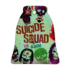 Panic! At The Disco Suicide Squad The Album Ornament (bell)  by Onesevenart