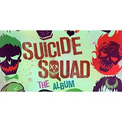 Panic! At The Disco Suicide Squad The Album You Are Invited 3d Greeting Card (8x4) by Onesevenart