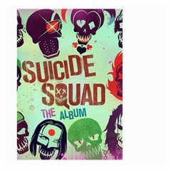 Panic! At The Disco Suicide Squad The Album Large Garden Flag (two Sides) by Onesevenart