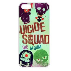 Panic! At The Disco Suicide Squad The Album Apple Iphone 5 Seamless Case (white) by Onesevenart